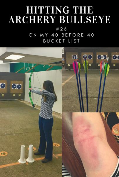 Hitting the Archery Bullseye